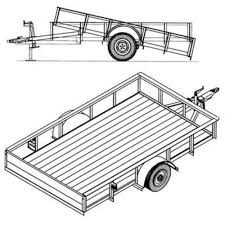 Teardrop Trailer Plans Free by Download Utility Trailer Building Plans Zijiapin
