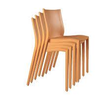 chaise slick slick lot de 4 chaises slick slick par starck chez xo la salle des