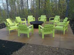 Firepit Chairs White Simple Outdoor Chairs For The Firepit Diy Projects