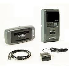 keychain garage door opener craftsman craftsman 53999 assurelink garage door opener smartphone control