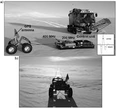 ground penetrating radar profiles of the mcmurdo shear zone