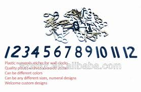 plastic numerals sticker numbers number stickers numeral plastic numerals sticker numbers number stickers numeral clock face dial wall parts buy
