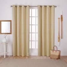 Yellow Brown Curtains Yellow Curtains Drapes Window Treatments The Home Depot