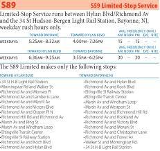Q31 Bus Map S89 Richmond Av Bayonne New Jersey Limited Stop Service