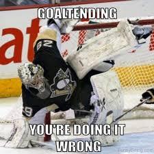 Hockey Goalie Memes - 55 amazing hockey memes
