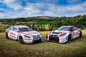 nissan gtr nismo gt3 michael caruso to race in nissan nismo colors in 2015 v8 supercars