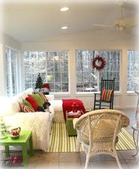 decorating a sunroom for winter