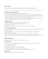 automotive technician resume exles this is auto mechanic resume sle articlesites info