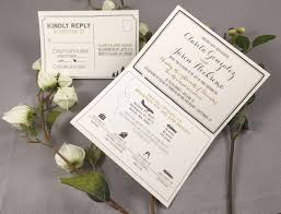 tri fold invitations rustic mountain wedding trifold invitation with state outline and