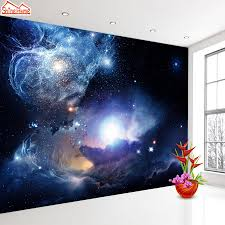 compare prices on space stars wallpaper online shopping buy low shinehome starry night space star planet wallpaper murals roll for 3d walls wallpapers for 3