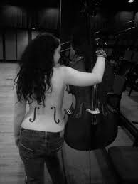 cello back tattoo cello tattoo tattoo ideas pinterest