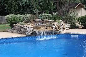 pools with waterfalls wonderful designs swimming pool waterfall designs