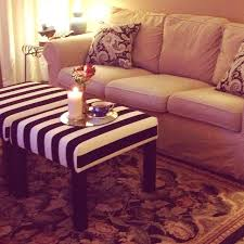 Bench Ottoman Ikea Ikea Lack Side Tables Turned Ottomans Diy Ottoman Ottomans And