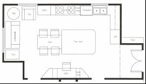 how to layout a kitchen best of kitchen design floor plans aeaart design