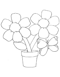 spring flowers colouring sheets printable things pinterest