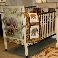 Crib Bedding Jungle Furniture Baby Boy Grey Safari 4 Pc Crib Bedding Sets