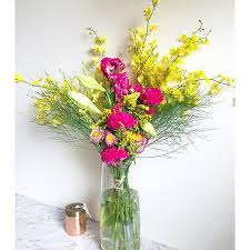flower subscription bright colourful subscription fig bloom