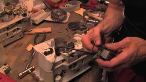 detailed and complete reassembling of stihl chainsaw ms390 youtube