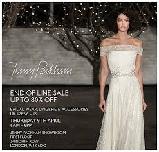 Wedding Lingerie Sale A Jenny Packham Bridal Sample Sale