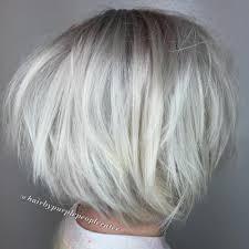 platinum blonde bob hairstyles pictures 70 fabulous choppy bob hairstyles best textured bob ideas
