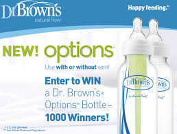enter to win a free dr brown s baby bottle 1 000 winners