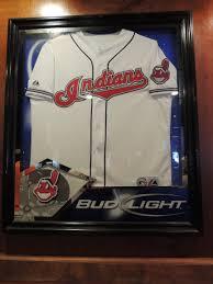 bud light baseball jersey beer sign bud light cleveland indians mlb baseball neon beer