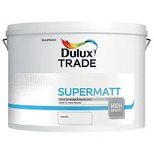 dulux trade supermatt emulsion paint white 10l wickes co uk