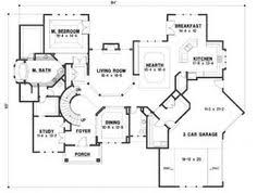 floor plans aflfpw21787 1 story country home with 3 bedrooms 2
