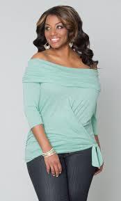 Flattering Plus Size Clothes 163 Best Color Green With Envy Images On Pinterest Plus Size