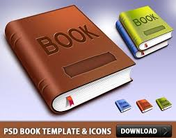 book template and icons free psd file free psd in photoshop psd