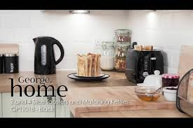 Asda Toasters George Home 3kw Fast Boil Kettle With 1 Cup Boil Various Colours