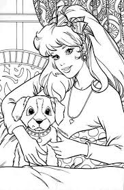 11 coloring pages 30 barbie images barbie