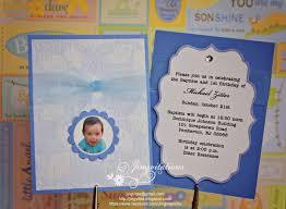 jingvitations baptism and first birthday invitations