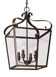 Carriage Light 5119404 782 Four Light Hall Foyer Heirloom Bronze