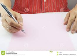 present writing paper man planning business on pink paper stock image image 37395941 business paper planning writing