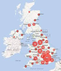 Leicester England Map by Geographical Concentration Of Falciparum Malaria Treated In The Uk