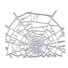 halloween spider web metal stencil embossing cutting dies 3d diy