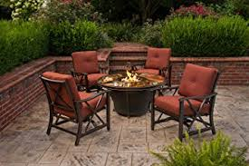 Firepit Table Oakland Living Moonlight Gas Firepit Table With