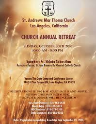 st andrews marthoma church retreat st andrews mar thoma church