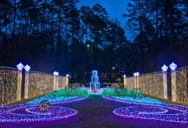 garvan gardens christmas lights 2016 let there be lights arkansas life