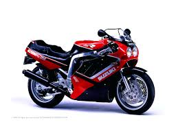 suzuki gsxr 750 looks very similar to the one sitting in my