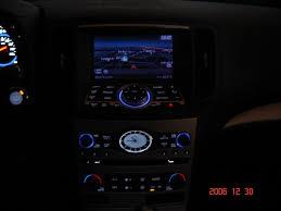 infiniti g37 interior night shots of interior dash console g35driver infiniti g35