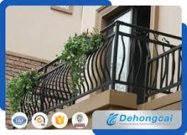 china balcony railing wrought iron fence steel fence
