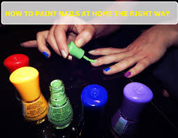 how to paint your nails at home perfectly 17 insanely easy