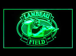 green bay packers lights green bay packers lambeau field shop neon light sign beer bar
