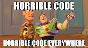 Meme Generator Javascript - how to use inline javascript with html you definitely like really