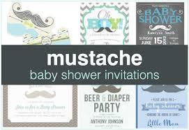 mustache baby shower invitations mustache baby shower invitations shower that baby