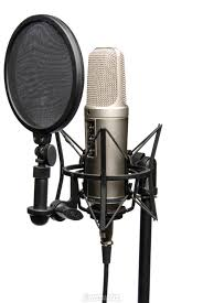omnirax presto 4 studio desk rode 1600 nt2a microphone jpg