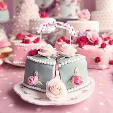 aliexpress com buy happy birthday cake topper banner flag