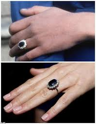 royal wedding ring battle of the royal engagement rings from the duchess of